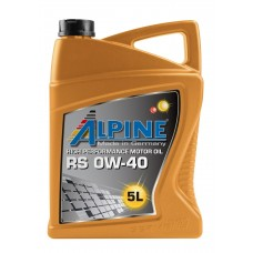 Alpine RS 0W-40, 5л