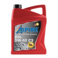 Alpine RSL 5W-40 C3, 5л